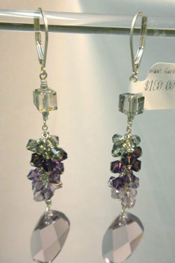 Beadology Iowa Avant Garde Cascade Earrings