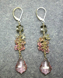 Beadology Iowa Baroque Cascade Earrings