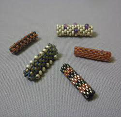 Beadology Iowa Peyote Stitch Beaded Beads Kirkwood Community College Continuing Education Program