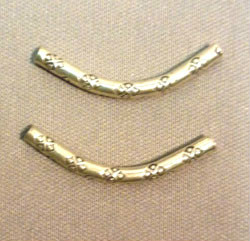 Beadology Iowa Curved Tube with 4 Directions Stamp