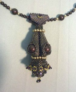 Beadology Iowa Merlot Goddess