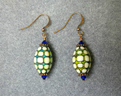 Beadology Iowa Mirage Bead Earrings