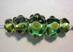 Beadology Iowa Optical Illusion Bead Strand