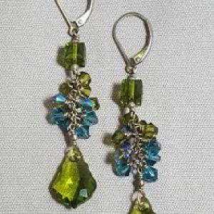 Baroque Cascade Earrings