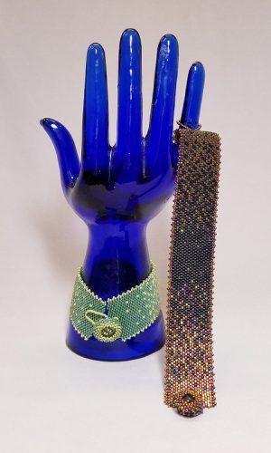 Peyote Bracelet in Color Gradient