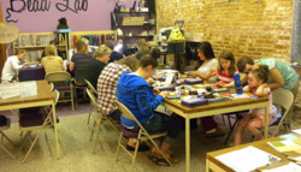 Beadology Iowa Gems of Hope Workshop