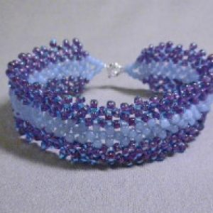 Flat Right Angle Weave (RAW) Bracelet