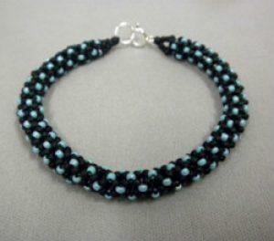 Chenille Stitch Bracelet through Kirkwood Community College
