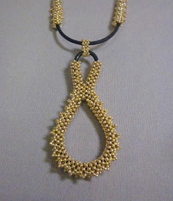 Beadology Iowa Classes RAW Rubber Gasket Necklace