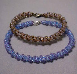 Beadology Iowa Classes Twisted Sister Beaded Bracelet Kirkwood Community College