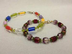 Make 2 Bracelets:  Intro to Stringing through Kirkwood Community College