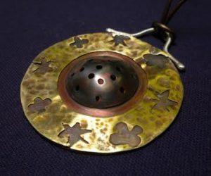 Beginning Metal Working:  Copper Pendant