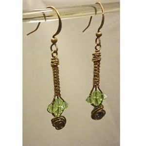 NEW CLASS!! Swarovski Wire Earrings
