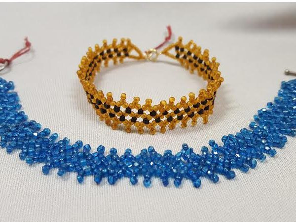 roaring-twenties_netted-beadwork_bracelet_Beadology-Iowa