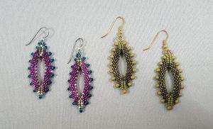 Peyote Marquise Earrings
