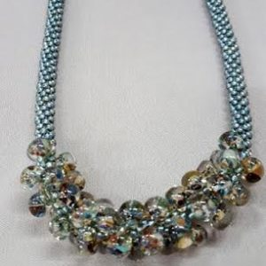 kumihimo_necklace_lampwork-drops_Beadology-Iowa