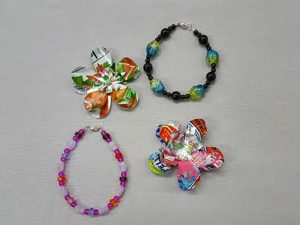 Summer Bead Camp:  Make a Bracelet and Recycled Blooms