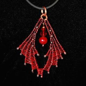 crescent-earrngs-pendant_marilyn-moore_Beadology-Iowa
