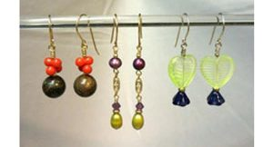Make 3 Pairs of Earrings:  Intro to Wirework--only 2 seats left!