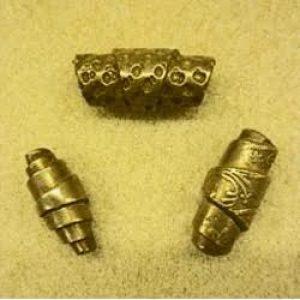 Bronze Clay Beads