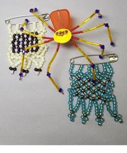 Winter-Bead-Camp_Spider_Message-Beads_Beadology-Iowa
