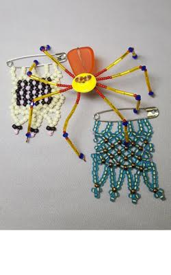 Winter-Bead-Camp_Spider_Message-Beads_Beadology-Iowa