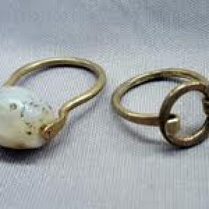 Make a Stone/Glass and Metal Ring to Size