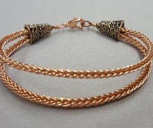 double-braided-copper-wire-bracelet_Beadology-Iowa