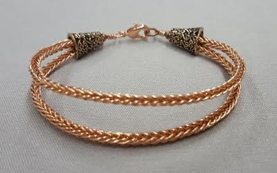 double-braided-copper-wire-bracelet_Beadology-Iowa