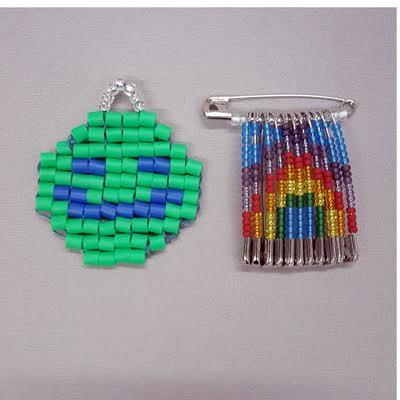 Spring-Bead-Camp_beaded-emoji_safety-pin-jewelry_Beadology-Iowa