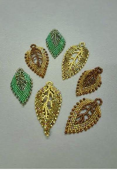 Russian-leaves-peyote_Beadology-Iowa