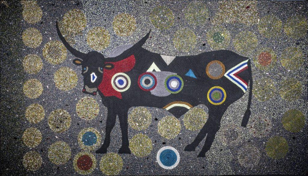 """Funky Bull""Anacostia Community Museum/Smithsonian Institution"