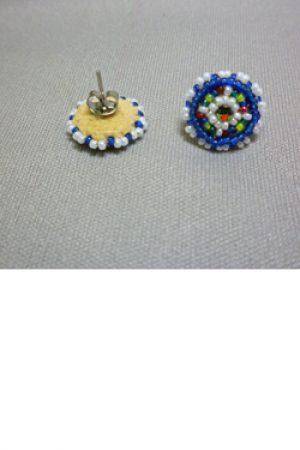 Pretty Posts Beaded Earrings