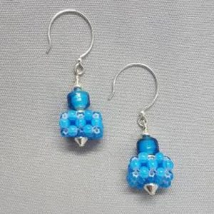 New Class!  Gyrls Night Out: CRAW Square Earrings--only 2 seats left!