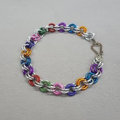 Pride-chain-maille-bracelet_Beadology-Iowa