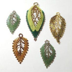 Russian Leaf Pendant