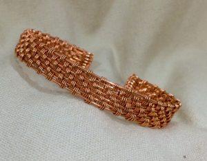 Basket Weave Cuff