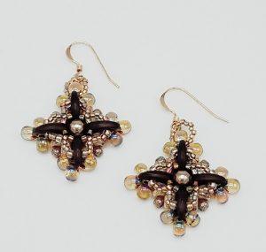 Gyrls Night Out:  Cosmic Flora Earrings