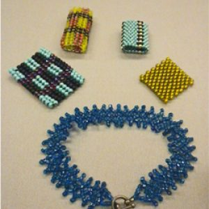 Seed Bead Weaving 101--this class is full--call to get on a waiting list.