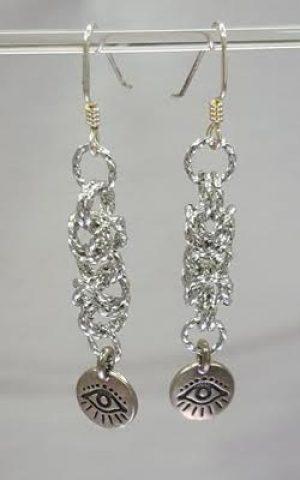 Byzantine Dangle Earrings through Kirkwood Community College