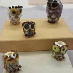 Glass Owl Bead--What a Hoot!--2 seats left!