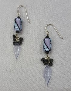 Cluster-Dangle-Earrings_Swarovski_Beadology-Iowa