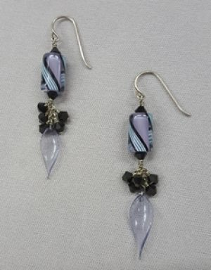 Gyrls Night Out: Cluster Dangle Earrings
