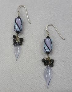 Cluster-Dangle-Earrings_Swarovski_Beadology-Iowa
