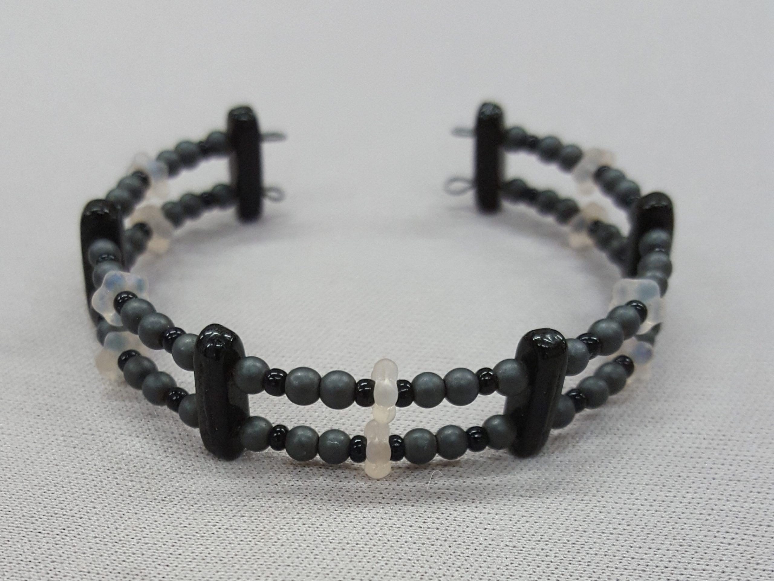 2 Strand Memory Wire Bracelet