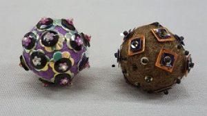 Gyrls Night Out:  Embellished Felt Beads