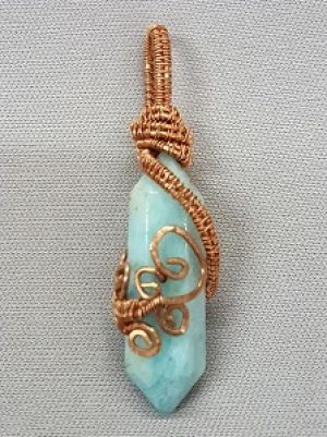 Double Terminated Point Pendant