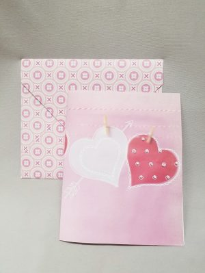 Mother's Day Handmade Beaded Card & Envelope--for 8 yo and up