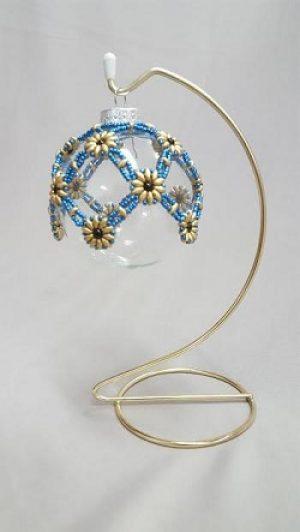 Beaded Holiday Ornament