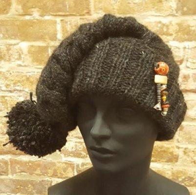 "Bead Challenge 2019--Matine Dunnwald's ""Reuben & Jet's Hat"""